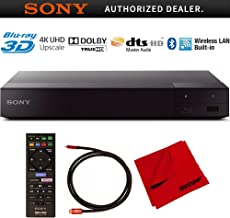 $108 » Sony BDP-S6700 4K Upscaling 3D Streaming Blu-ray Disc Player with Dolby TrueHD and DTS Master Audio Bundle with Deco Gear 6 ft High Speed HDMI 2.0 Cable and Microfiber TV Screen Cloth