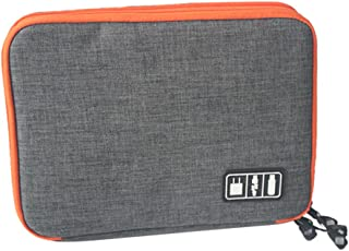 HOMYL Universal Storage Accessories Travel Organiser for iPad/iPhone/Cable S Grey