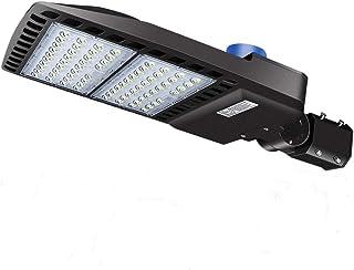 LEDMO 200W LED Réverbères Extérieurs 5000K LED Projecteurs éclairage Extérieur Vommercial Extérieur Super Lumineux Impermé...