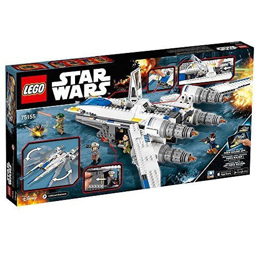 Vaisseau Rebelle Chasseur U-Wing Fighter LEGO Star Wars 75155 - 659 Pièces - 4