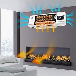 Calentador Eléctrico De Pared PTC Cerámica Panel De Baja Energía Termostato Del Radiador Termostato De Bajo Consumo De Energía 1000W/2000W,White