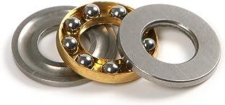 Atoplee 4pcs Miniature Axial Ball Thrust Bearings F10-18M 10x18x5.5mm