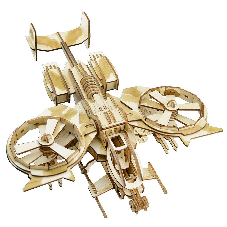 3Dパズル 立体パズル おもちゃ 3D立体パズル DIY組立 木製 模型マニア クラフト プレゼント 木製パズル 子供 レーザー仕上 ZJI