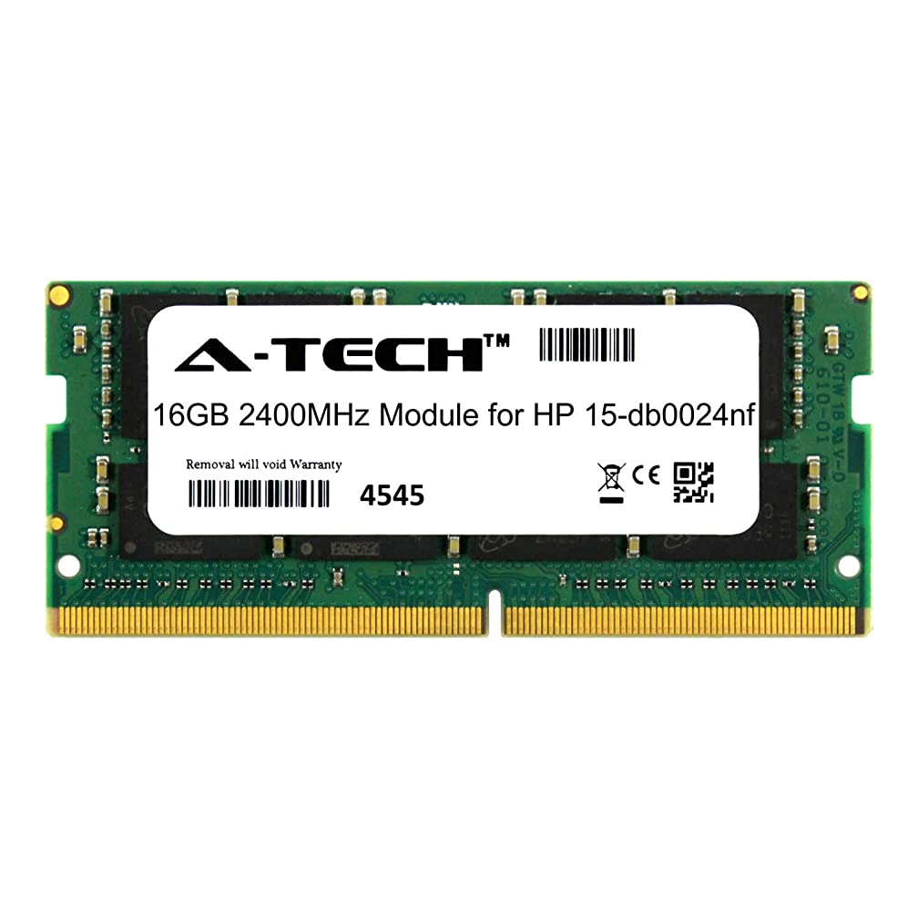 A-Tech 16GB Module for HP 15-db0024nf Laptop & Notebook Compatible DDR4 2400Mhz Memory Ram (ATMS381899A25831X1)