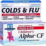 BOERICKE & TAFEL CHILD ALPHA CF/COLD & FLU, 100 TAB