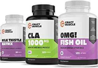 Get Leaner with Fish Oils, CLA and Milk Thistle