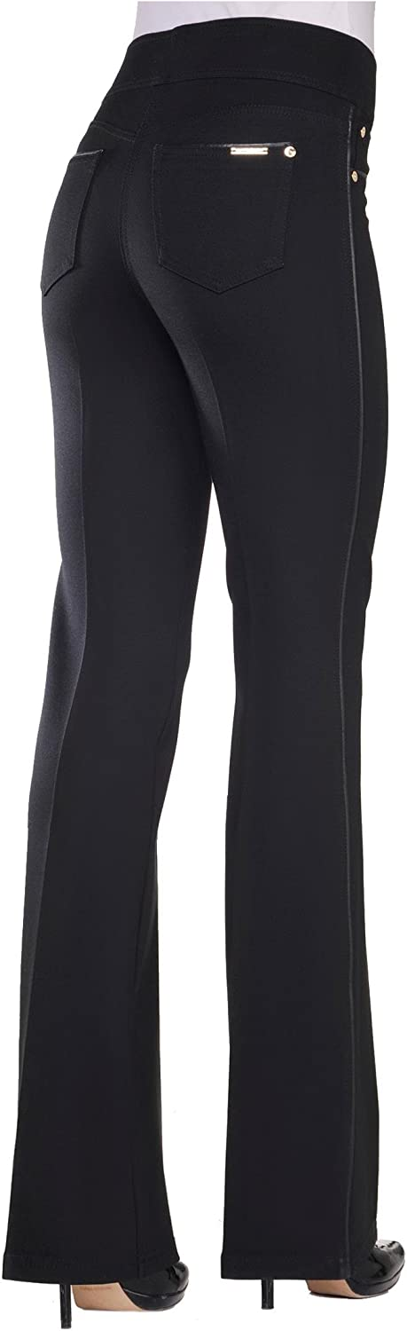 Nygard Women's Plus Size Slims 2.5 Boot Cut with Piping