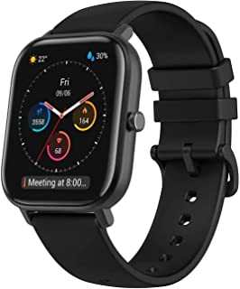 Amazfit GTS Smartwatch Fitness and Activities Tracker with Built-in GPS,5ATM Waterproof,Heart Rate, Music, Smart Notificat...