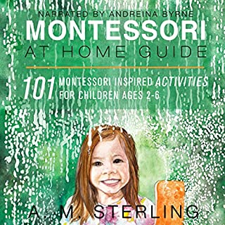 Montessori at Home Guide audiobook cover art