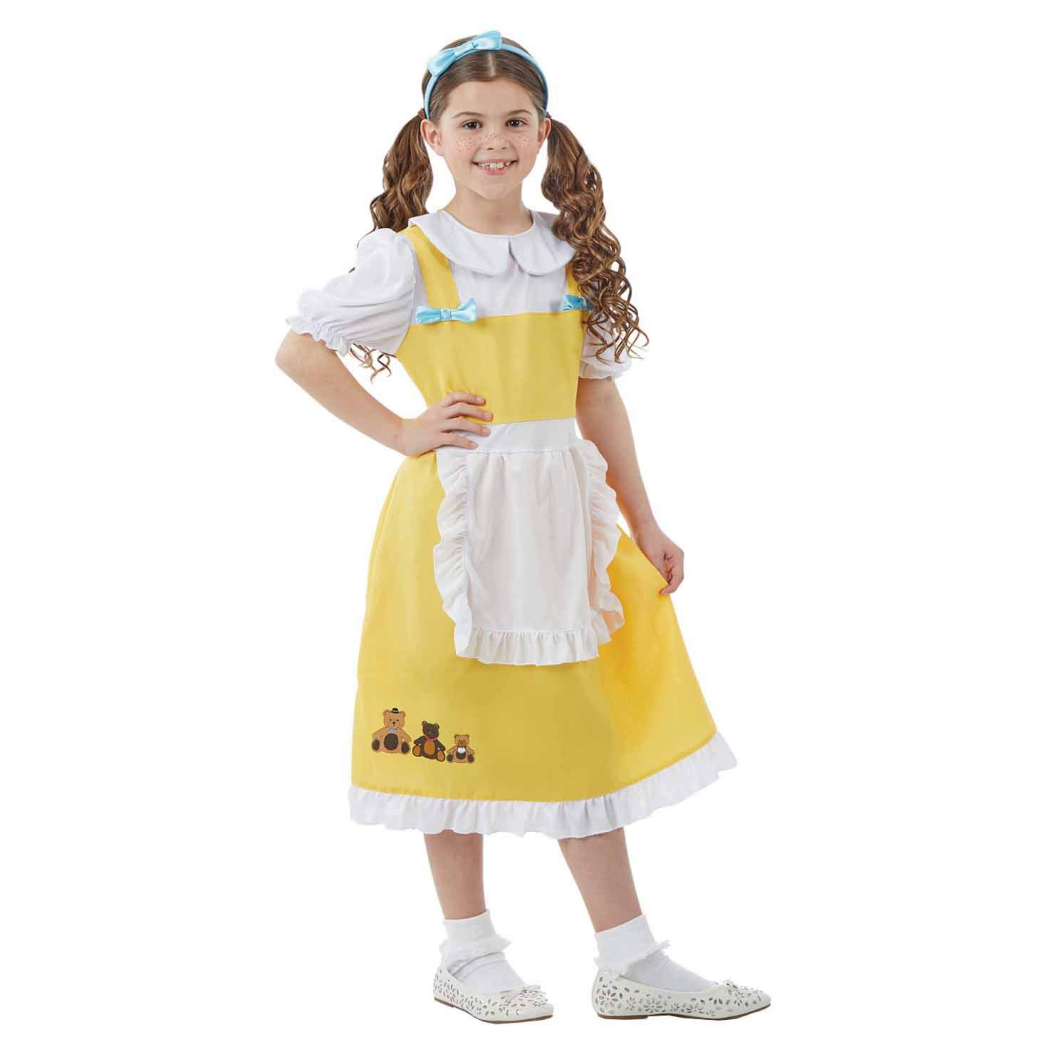 Girls Kids Goldilocks Fairytail Costume by Dress up America