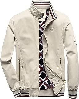 LILICAT Mens Cotton Windbreaker Jacket Military Zipper Bomber Cargo Outwear Jackets Coat Men Autumn Winner Casual Zipper Tactical Military Cargo Long Sleeve Jacket Coat