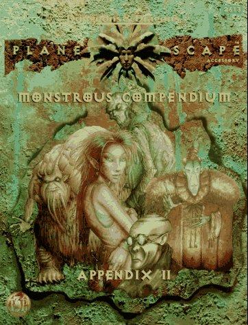 Monstrous Compendium Appendix II (Planescape) (Advanced Dungeons & Dragons, 2nd Edition, -