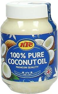 KTC 100 Percent Pure Coconut Oil, 500 ml
