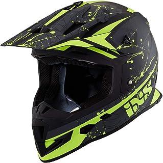 IXS 361 2.0 Motocross Helm Schwarz/Gelb XXL 63/64
