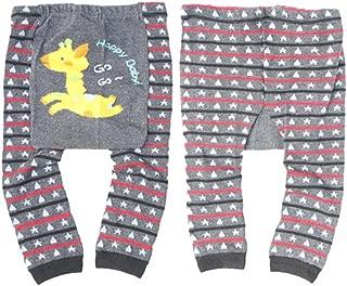 Wrapables Baby & Toddler Leggings, Go Go Giraffe - 12 to 24 Months