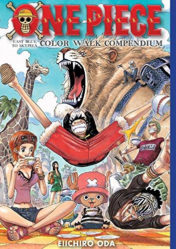 One Piece Color Walk Compendium: East Blue to Skypiea [Idioma Inglés]: 1