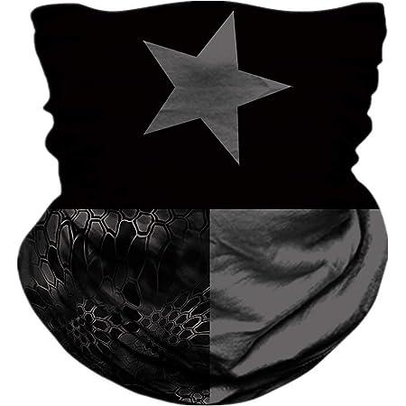 huatongxin Texas Flag Dont Tread On Me Seamless Bandana Face for Men Women Bufanda Headband Sweatband