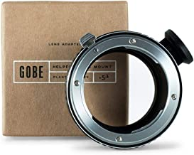 Gobe Lens Mount Adapter: Compatible with Nikon F Lens and Sony E Camera Body + Tripod Attachment