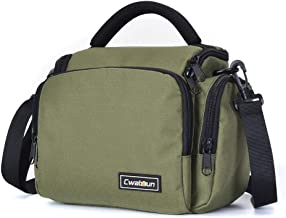 Cwatcun Camera Bag/Case, Single Shoulder Crossbody...