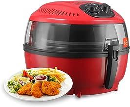 KUPPET Air Fryer 7.4QT Hot Air/Deep Fryer with Basket/Rapid Air Technology Oven Oiless Cooker lTimer & Temperature Control/8 Cooking Presets, Steamer,Fryer Pan