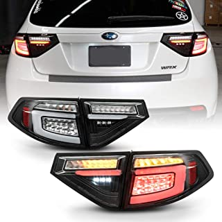 TYC 11-6500-00-1 Compatible with Subaru Impreza Left Replacement Tail Lamp