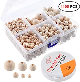 Best large wooden beads Reviews