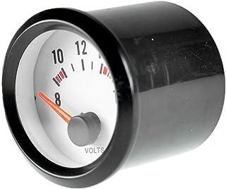 Sharplace Calibro Voltmetro Digitale Impermeabile 12v-24v Motociclo Automobile
