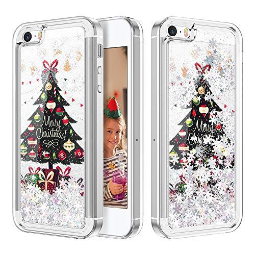 Caka Coque pour iPhone 5/5S/SE Paillettes de luxe Mode Bling ...