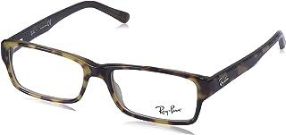 Ray-Ban RX5169 Rectangular Eyeglass Frames Non Polarized Prescription Eyewear, Top