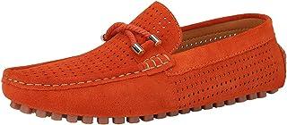 Homme Décontracté Mocassin Conduite des Chaussures Slip on Soft Suede Flats Bateau Taille 39.3-44.7