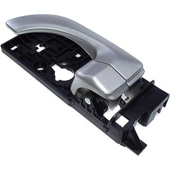 Amazon Com Bapmic 83620 3k020 Rear Right Silver Interior Inside Door Handle For Hyundai Sonata 06 08 Automotive