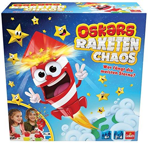 GOLIATH 31201–Oskars Razzo Chaos, Bambini Gioco di società, raketenmaessiger Gioco Divertimento con Pioggia di Stelle cadenti, per Tutta la Famiglia, a Partire da 3Anni
