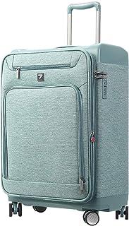Uniwalker 軽量 ソフト キャリーケース 容量拡張可能 防水加工 TSAロック ビジネス キャリーバッグ 機内持込 旅行用 スーツケース 出張