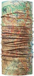 Buff (バフ) 豊富な色・柄 スペイン製 オールシーズンOK 使い方10通り以上 マルチな万能ヘッドウェア 軽量コンパクト 抗菌対応 汗をかいても匂わない 縫い目なし 吸汗速乾 フリーサイズ (COOLNET UV+ CAMINO GEO MULTI) [並行輸入品]