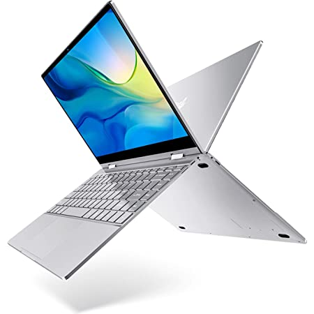 BMAX 2-in-1 ノートパソコン、 軽量 薄型 ノートPC 、 インテルN4120プロセッサー、メモリ8GB、256GB SSD、13.3インチFHD 1080Pディスプレイ、バックライトキーボード付き、デュアルバンドWIFI、Windows 10 搭载、SSD拡張をサポート
