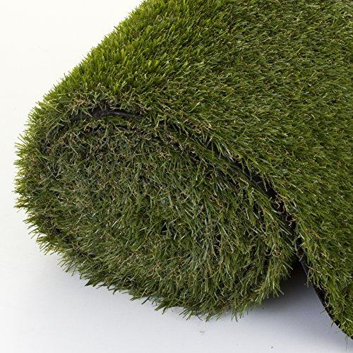 Marko Gardening Artificial Grass Astro Garden Turf Realistic Natural Fake Lawn Green 20mm/30mm (4M x 1M x 30mm)