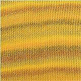 Rico Creative Melange Big Super Chunky - Ovillo de lana (100 g), color amarillo