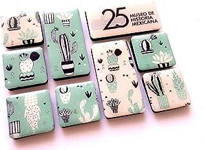 3 Museos Set de imanes Cactus