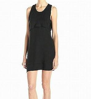Alternative Women's Dress Black US Size XS Sheath Popover Scoop Neck