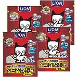 【Amazon.co.jp限定】 ニオイをとる砂 猫砂 7歳以上用鉱物タイプ 1)5.5Lx4袋 (ケース販売)