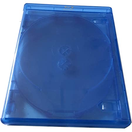 New 1 MegaDisc 15mm Blu-ray Replacement Case Holds 4 Discs Premium