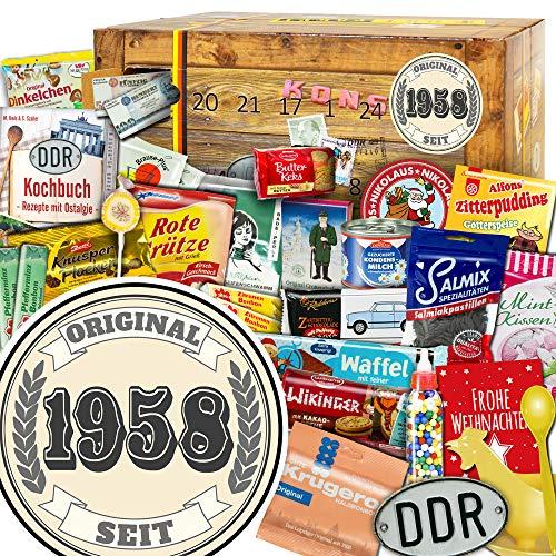 Original seit 1958 - Ostalgie Adventskalender - DDR Adventskalender Ossi