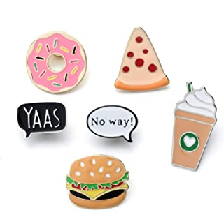 Creative Enamel Brooch Pin Set Brooches Badges Lapel pins for Women Girls Clothes Decoration