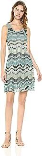 M Missoni womens Lurex Wave Ripple Knit Dress Dress