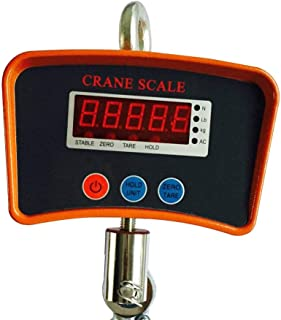 Hanging Scale 1100 LBS 500 KG Digital LCD Hanging Scale Heavy Duty Industrial Mini Industrial Crane Scale