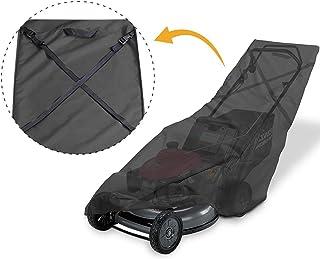"""Porch Shield Lawn Mower Cover Upto 22"""" Wide Black"""