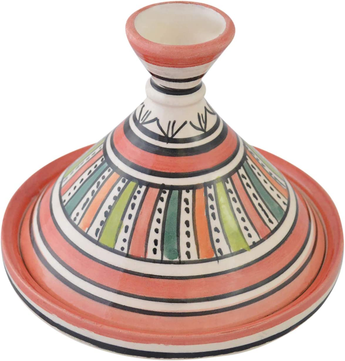 Moroccan Handmade Serving Challenge the lowest price Tagine Vivid colors Opening large release sale Exquisite Ceramic