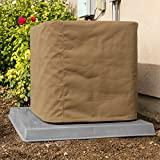 SugarHouse Custom Outdoor Air Conditioner Cover - Made-to-Order - Ultimate Sunbrella Canvas - Made in The USA - 20-Year Warranty - Beige