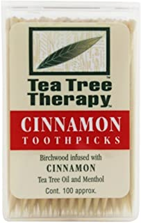 Tea Tree Therapy Cinnamon Toothpicks (1x100 CT)