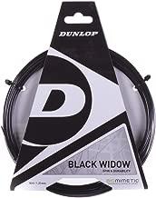 Dunlop Black Widow 16g Tennis String - 2 Packs